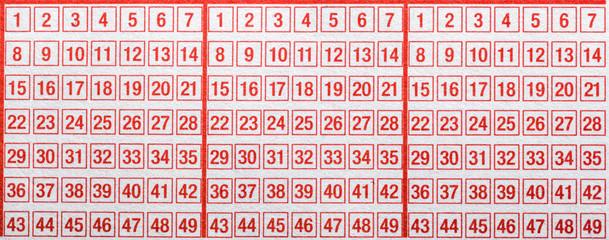Lotto Statistik 2020 - 55801