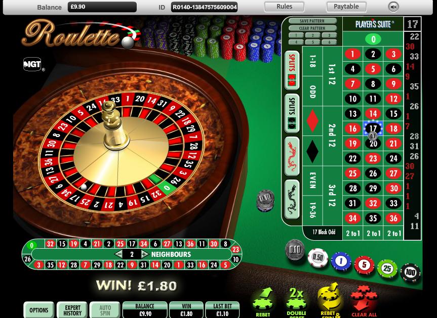Online Roulette - 18635