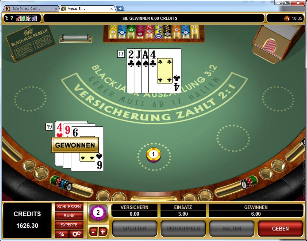 Blackjack Begriffe Gewinner - 63896