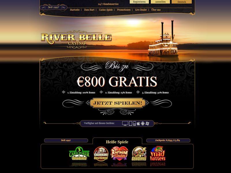 Spielautomaten Systemfehler River - 22389