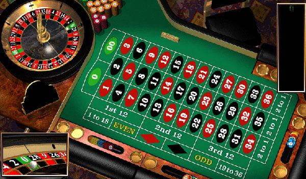 Französisch Roulette Tisch - 98623
