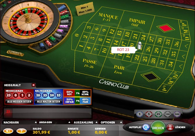 Roulett Gewinn System - 70910