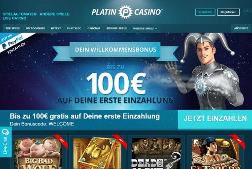 Platin Casino Kreditkarten - 70976