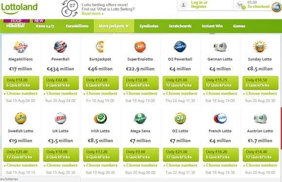 Welche Lotterie - 76300
