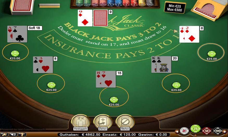 Blackjack Regeln - 49954