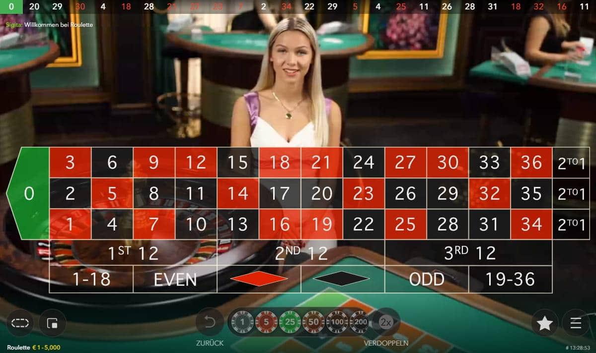Live Casino - 25483