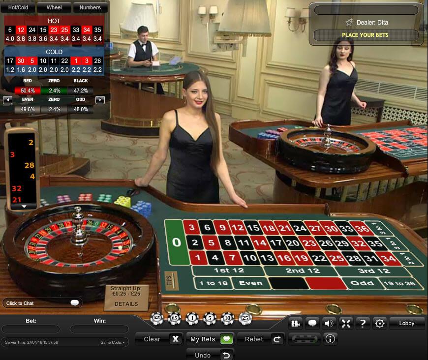 Live Roulette Paypal - 86294