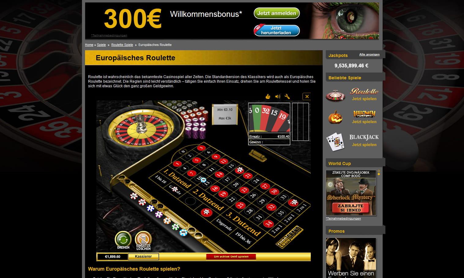 Roulette Schnelles Spiel - 68636