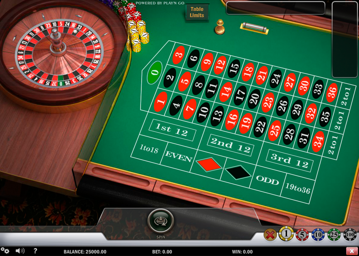 European Roulette - 63907