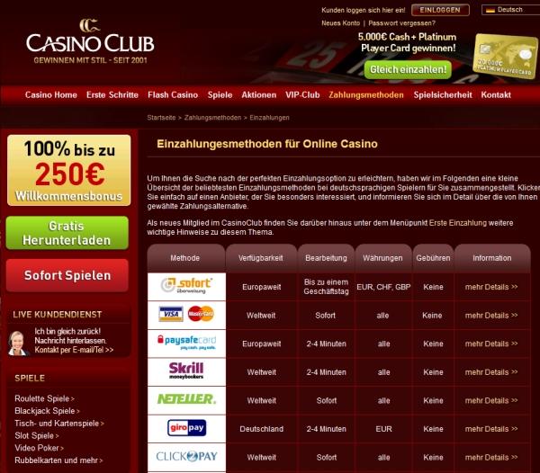 Casino mit Instant - 96746