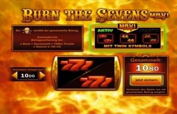 Spiele Auswahl Burn - 15900