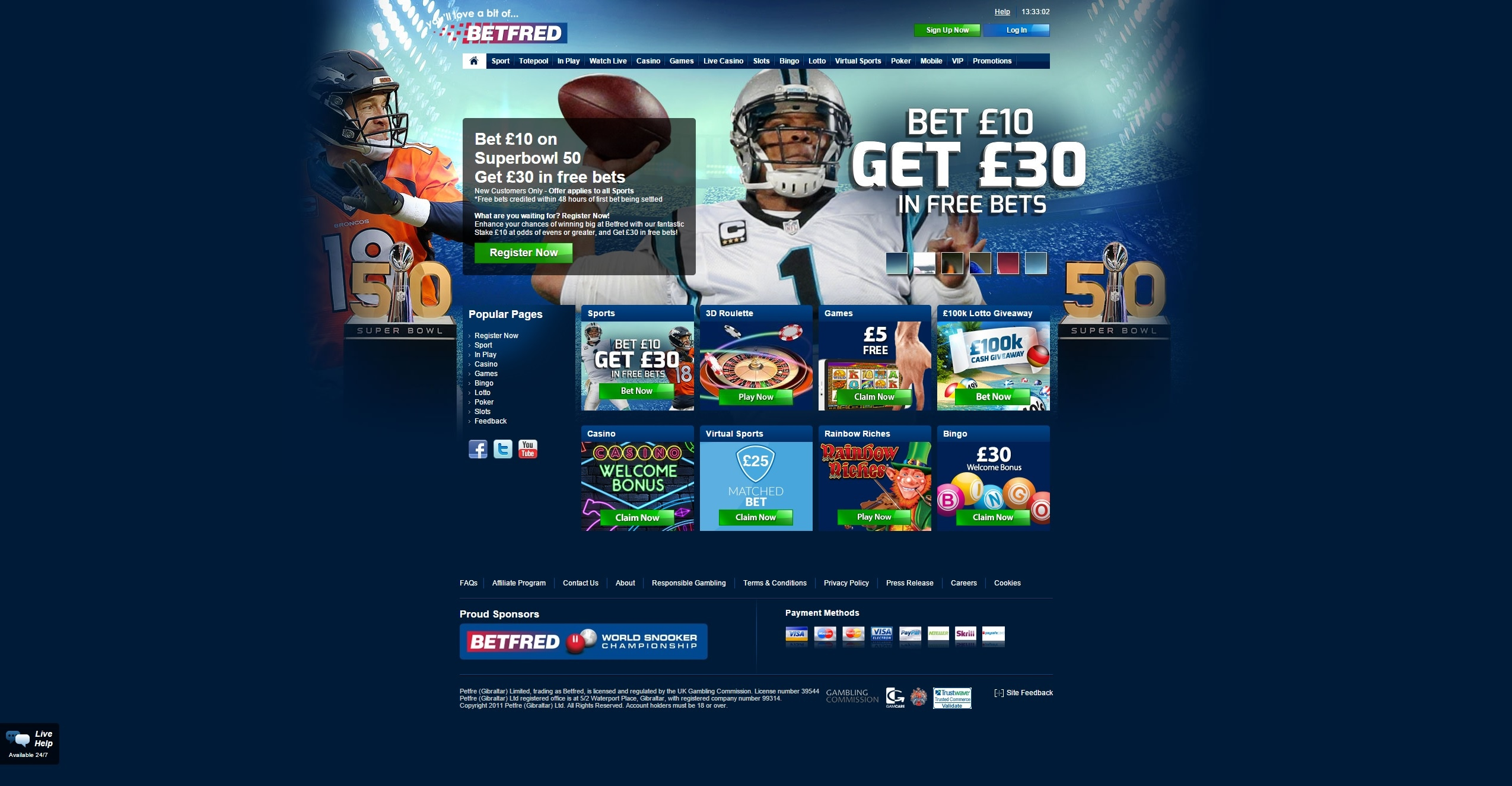 Betfred Playtech - 23782