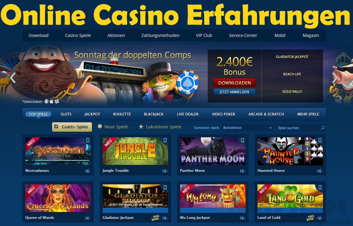 Online Casino Erfahrungen - 55104