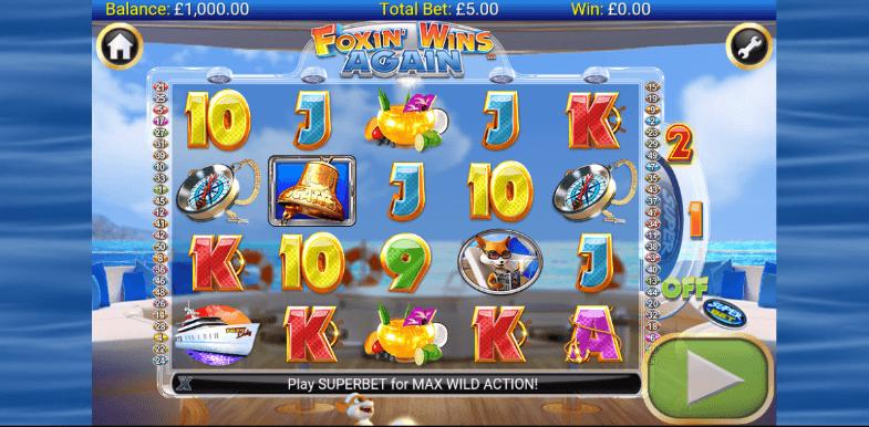 Foxin Wins Again - 61941