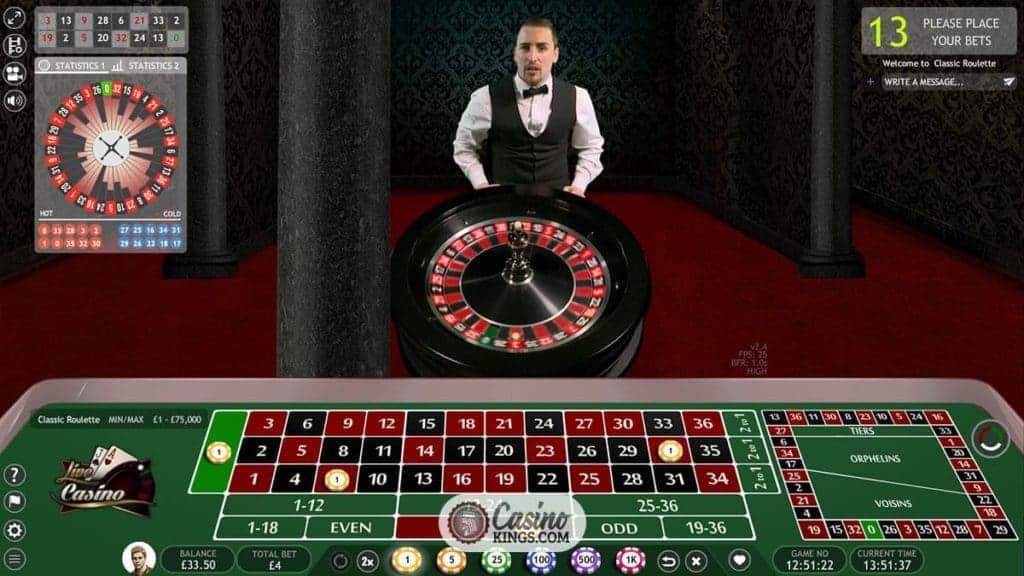 Live Roulette - 39583