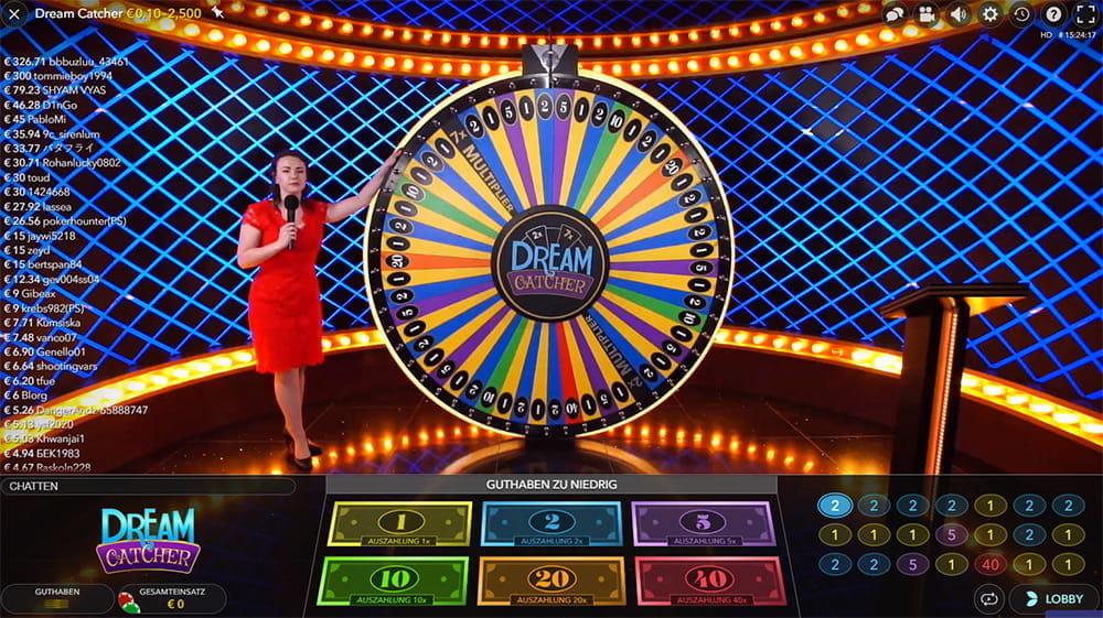 LIVE Spielübertragung Spielsaal - 49873