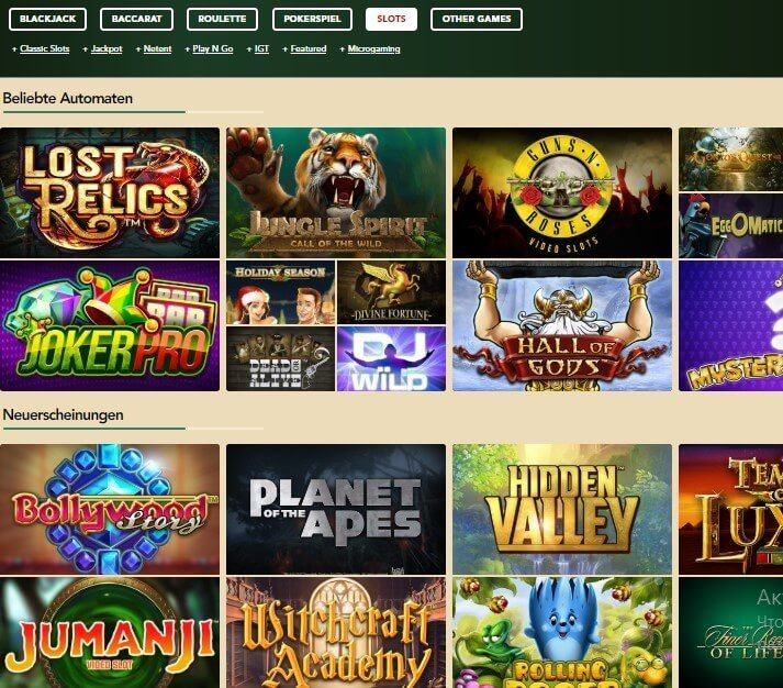 Online Casino Anbieter - 29738