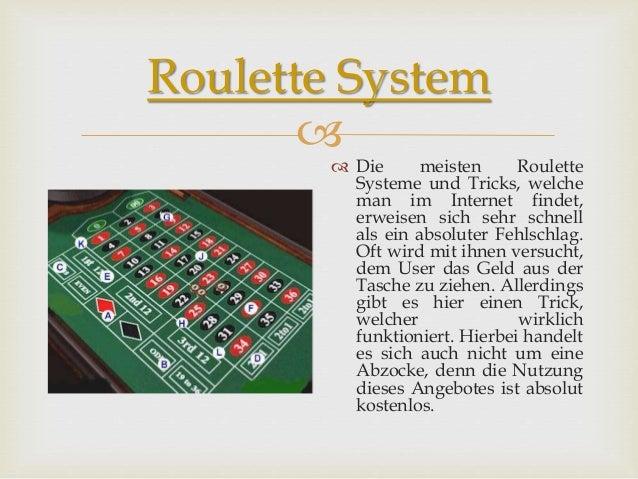 Roulett Trick Funktioniert - 83314