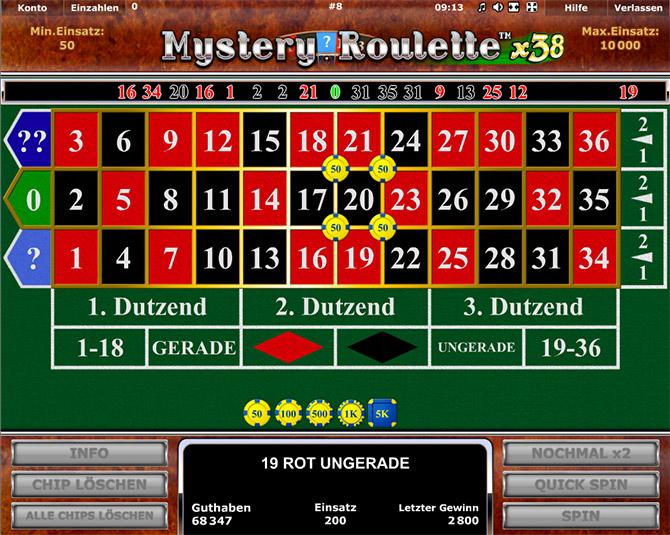 Roulette Kombinationen Frei - 23757