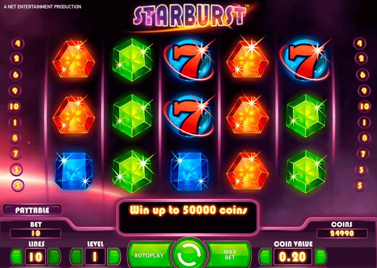 Spielautomat Gewinnchancen Starburst - 30450