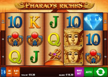 Spielautomaten Playtech Pharaos - 74824