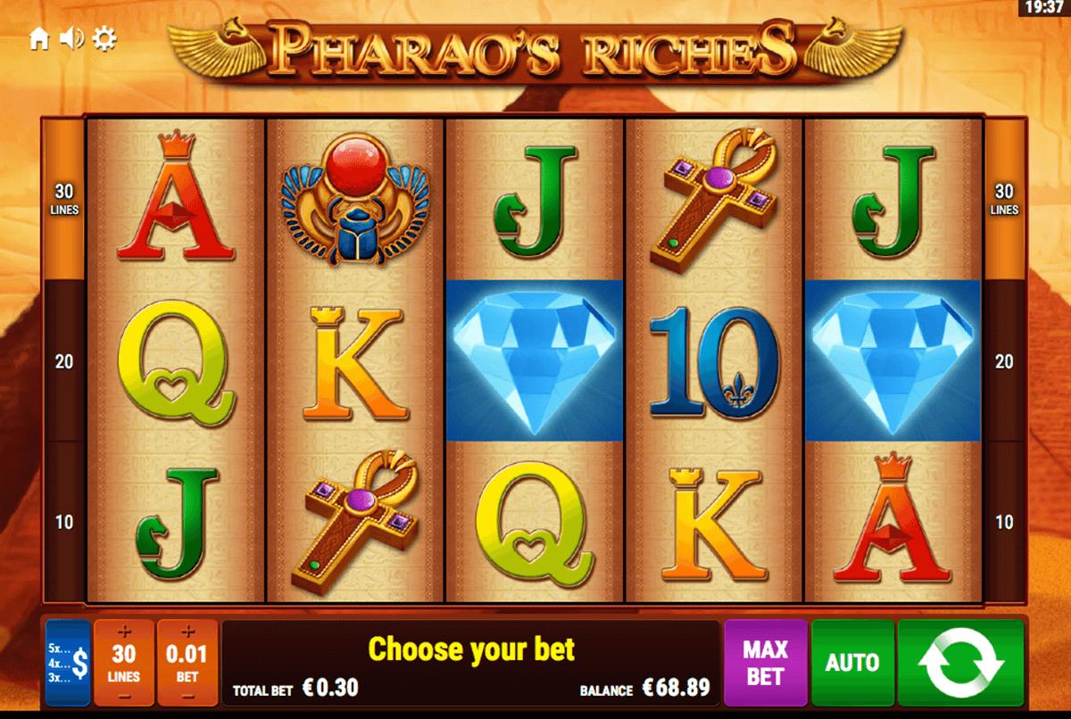 Spielautomaten Playtech Pharaos - 77581